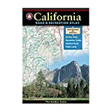 img - for California Road and Recreation Atlas (Benchmark Atlas) book / textbook / text book