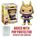 Funko Pop! Anime: My Hero Academia - All Might Vinyl Figure (Bundled with Pop BOX PROTECTOR CASE) (Tamaño: 3.75 inches)