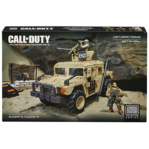 Mega Bloks Call Of Duty Light Armor Firebase Building Set