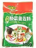 新商品 中華調味料、酸菜魚 調味料 300g