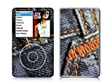 Instyles Jeans Ipod Classic Dual Colored Skin Sticker
