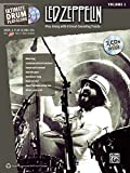 Ultimate Drum Play-Along Led Zeppelin, Vol 1: Authentic Drum (Book & 2 CDs)