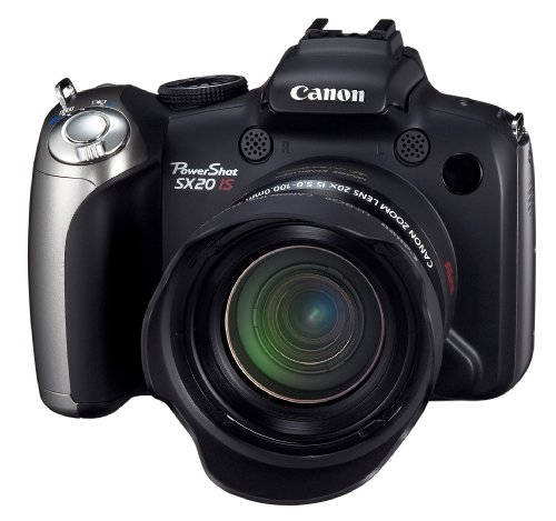 Canon PowerShot SX20 IS is one of the Best Digital Cameras for Travel Photos Under $400