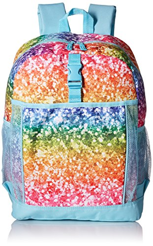 The Children's Place Big Girls Photo-Real Glitter Backpack, Multi Clr, One Size