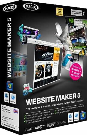Magix Website Maker 5.0 (PC/Mac)
