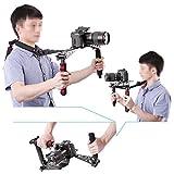 Neewer® Foldable DSLR Rig Movie Kit Film Making System Shoulder Rig Mount / Shoulder Support Pad for Digital SLR Camera and Camcorder / such as Canon 5D Mark II III 1D 7D 60D 700D 650D 600D 550D Rebel T5i T4i T3i T2i Nikon D4 D800 D700 D300 D90 D5000 D7000 D7100(Red)