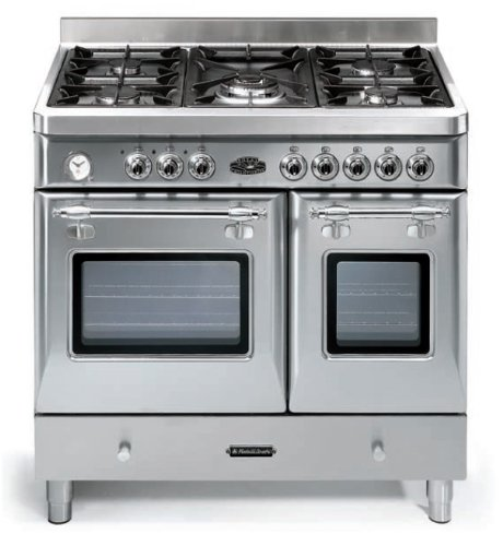 Electric Double Oven Slide In Range Range Oven: 36 Inch Dual Fuel Double Oven Range