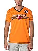 CANADIAN PEAK Camiseta Manga Corta Jogas (Naranja)
