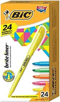 24-Pack BIC Brite Liner Highlighter