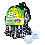 Second Chance Titleist Velocity Premium Lake Golf Balls Grade A - White, Size 24