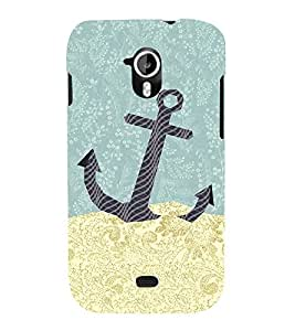 Anker Illustration Cute Fashion 3D Hard Polycarbonate Designer Back Case Cover for Micromax Canvas HD A116 :: Micromax A116 Canvas HD