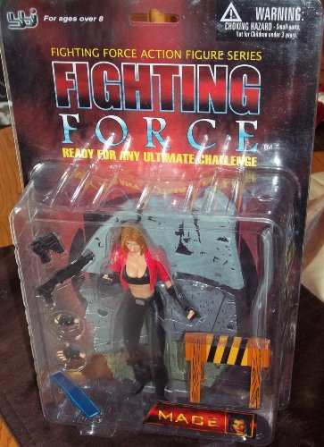 Eidos Fighting Force Mace 6 Inch Action Figure - 1