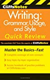 img - for CliffsNotes Writing: Grammar, Usage, and Style Quick Review, 3rd Edition (Cliffs Quick Review) book / textbook / text book