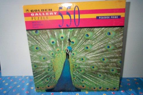 """Vintage Jigsaw Puzzle - 550 Piece """"Peacock Pride"""""""