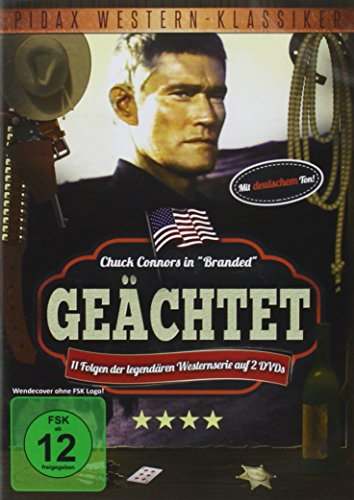 Geächtet (Branded) - 11 Folgen der Westernserie (Pidax Western-Klassiker) [2 DVDs]