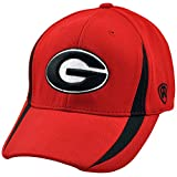 Georgia Bulldogs NCAA Triumph One-Fit Cap from Top of the World (Red-Black)