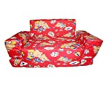 Nonie Berzer Kids Sofa Cum Bed - Red