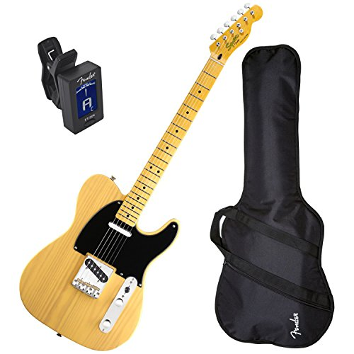 Squier Classic Vibe Tele 50's BTB Electric Guitar w/ Fender Gig Bag and Tuner (Fender Classic Vibe 50 compare prices)