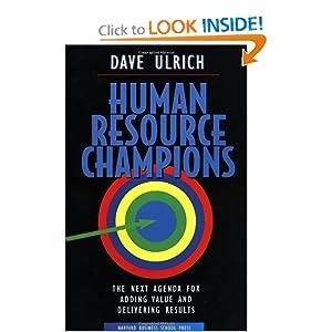 Human Resource Champions: 9780875847191: Human Resources Books