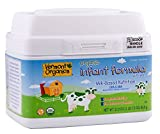 Vermont OrganicsTM Milk Based Organic Formula 36oz (2.25 Lb) Baby Infant Powder Formula With Iron DHA & ARA