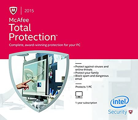McAfee Total Protection 2015 - 1 PC FFP (PC)