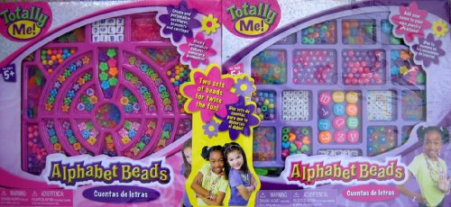 Totally Me! Alphabet Beads Double Pack