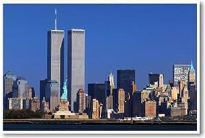 Amazon.com: World Trade Center - Twin Towers - NYC - NEW World Travel