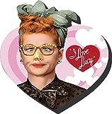 Aquarius I Love Lucy Heart Funky Chunky Magnet