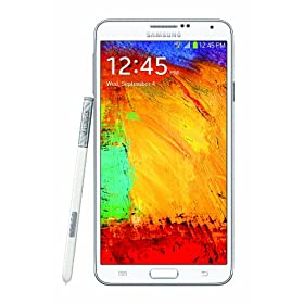 Samsung Galaxy Note 3, White 32GB (Verizon Wireless)