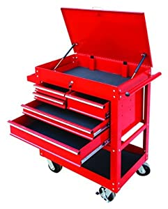 DuraWolf 92210 Five Drawer Service Cart