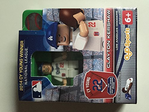 Clayton Kershaw OYO MLB Los Angeles Dodgers G3 Series 6 2014 NL CY Young Mini Figure Limited Edition