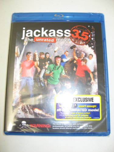 Jackass 3.5 the unrated movie [Blu-ray]