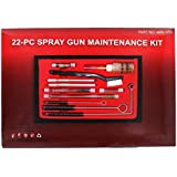 ABN Professional 22 Piece HVLP Spray Gun Cleaning & Maintenance Kit