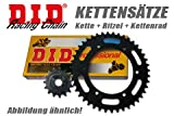 Chain kit DID O-ring Suzuki GN 125, 97-99