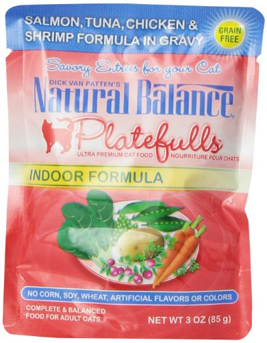 Natural Balance Platefulls Indoor Salmon Cat Food