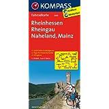Rheinhessen - Rheingau - Naheland - Mainz: Fahrradkarte. GPS-genau. 1:70000