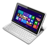 Acer Iconia W700P 11.6-inch Tablet PC with Case and Keyboard (Intel Core i5 3337U 1.8GHz Processor, 4GB RAM, 128GB eMMC, WLAN, BT, Webcam, Windows 8 Professional)