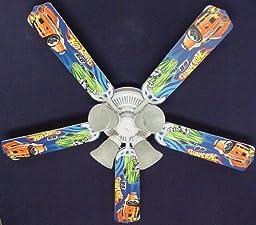 Ceiling Fan Designers Ceiling Fan, Hot Wheels, 52\