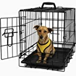 "OxGord 20"" Dog Crate, Single-Door Fol..."
