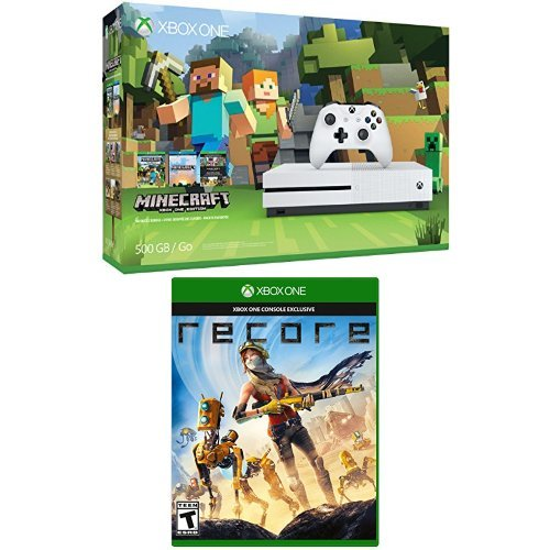 Xbox-One-S-500GB-Console-Minecraft-Bundle-and-ReCore