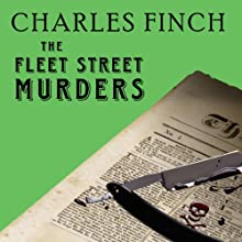 The Fleet Street Murders: Charles Lenox Mysteries Series #3 (       UNABRIDGED) by Charles Finch Narrated by James Langton