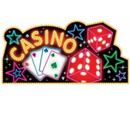 Casino Cutout and Banner