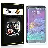 3 x Filmex Pellicola Protettiva Samsung Galaxy Note 4 (SM-N910C) - Trasparente, Prima Qualità Giapponese in PET...