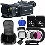 Canon XA30 Professional Camcorder Bundle with Carrying Case and Accessory Kit (11 Items)