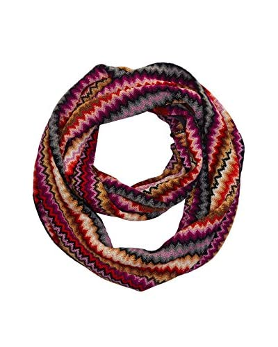 Missoni Sciarpa ad Anello [Rosa/Multicolore]