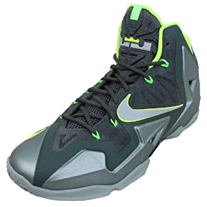 Nike Men's Lebron XI XDR, Dunkman-MC GREEN/S SPRY-DK MC GRN-VOLT, 7.5 M US