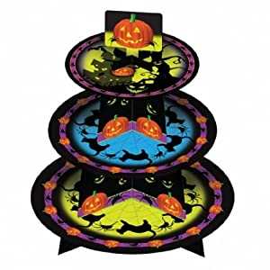 Amscan International Halloween 3 Tier Cakestand
