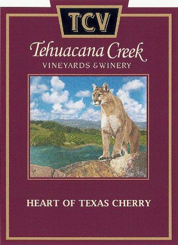 Nv Tehuacana Creek Vineyards And Winery Heart Of Texas Cherry 375 Ml