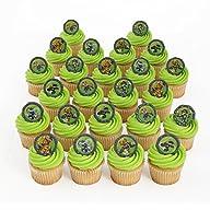 Skylanders 24 Cupcake Topper Rings