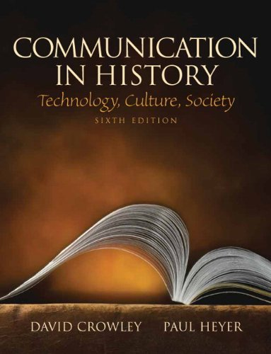 Communication in History: Technology, Culture, Society...